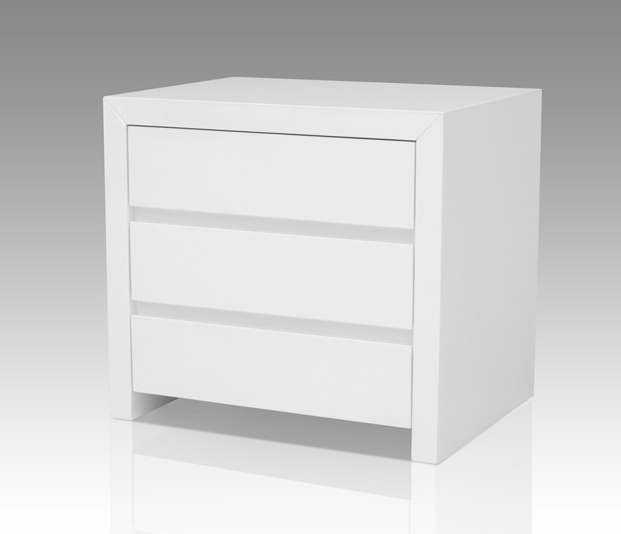 Chic White Nightstand With Wood Top Modern White Nightstand With Wood Top Ideas New Decoration