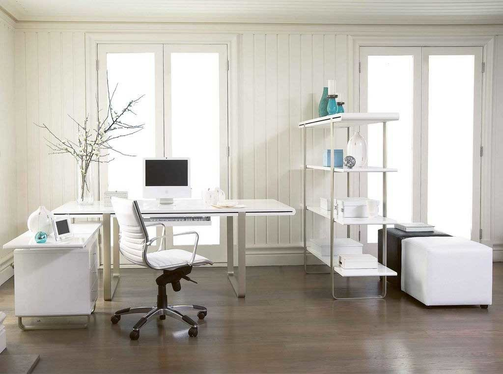 Chic White Office Furniture Ikea Creative Of Ikea White Desk Office How To Paint A Ikea White Desk