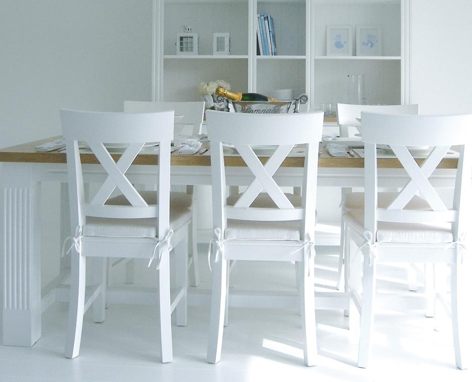Chic White Padded Kitchen Chairs White Kitchen Chairs And Table Innonpender Beautiful House