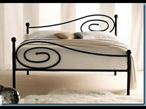 Chic Wrought Iron Bed Frame Wrought Iron Bed Frames Youtube