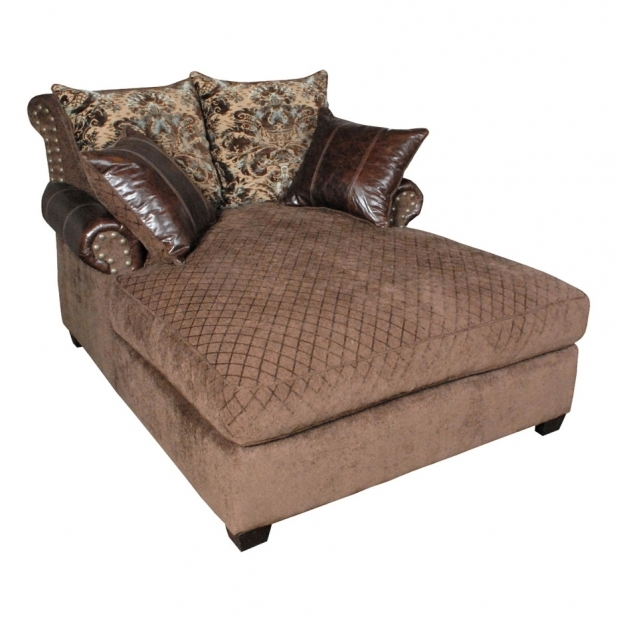Creative of 2 Person Chaise Lounge 2 Person Chaise Lounge Indoor Made Of Decorative Brown Velvet And