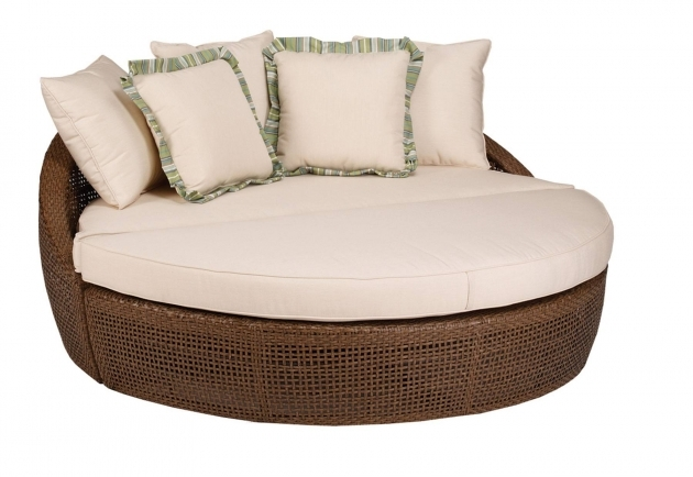 Creative of 2 Person Chaise Lounge Round Wicker 2 Person Chaise Lounge Indoor With Cushions Photos 73