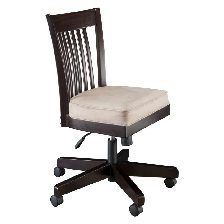 Creative of Accent Chair With Wheels Desks Upholstered Desk Chair With Wheels School Desk With Chair