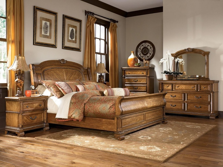 Creative of Ashley Furniture Bed Bench Ashley Millennium Clearwater B680 King Sleigh Bedroom Set King