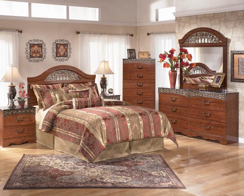 Creative of Ashley Furniture Queen Bedroom Sets Rent To Own Ashley Fairbrooks Estate Queen Bedroom Set Appliance