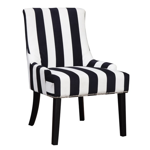 Creative of Black And White Accent Chair Coaster Company Black And White Striped Accent Chair Free