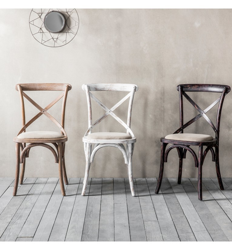 Creative of Black Dining Chairs With Upholstered Seats Cafe Chair Cross Back Bentwood Dining Chair With Upholstered Seat