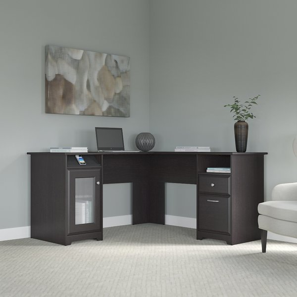 Creative of Black L Shaped Desk Red Barrel Studio Hillsdale L Shaped Executive Desk Reviews