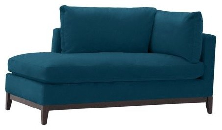 Creative of Blue Chaise Lounge Indoor Blue Chaise Lounge Facil Furniture