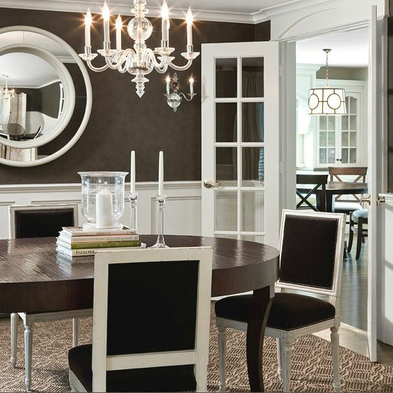 Creative of Brown And White Dining Chairs Best 25 French Dining Tables Ideas On Pinterest French Dining