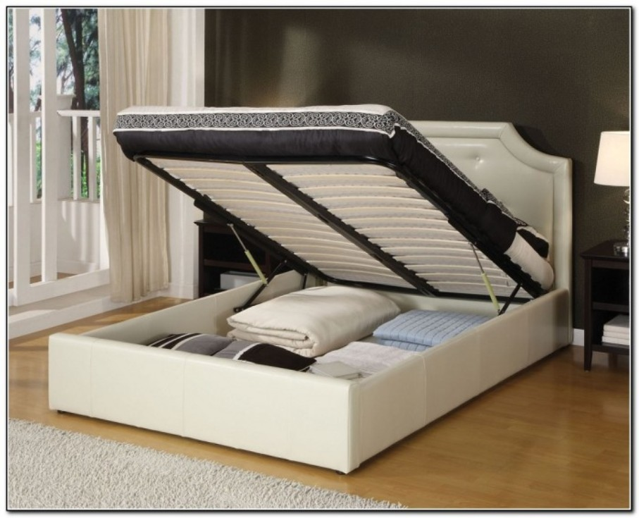 Creative of Cal King Bed Frame With Storage Cal King Storage Bed Simple And Practical To Carry Out Modern
