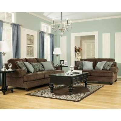 Creative of Chocolate Living Room Furniture Crawford Chocolate Living Room Set Signature Design Ashley
