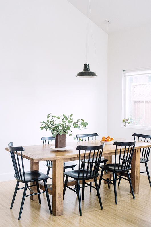 Creative of Colored Wood Dining Chairs Best 25 Black Dining Chairs Ideas On Pinterest Black Dining