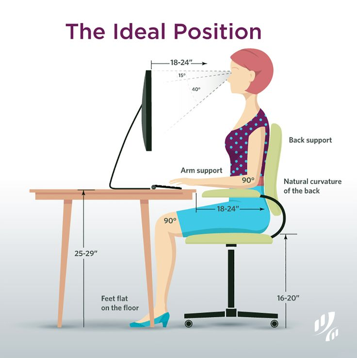 Creative of Computer Desk Posture 353 Best Posture Images On Pinterest Backpacks Shoulder Straps