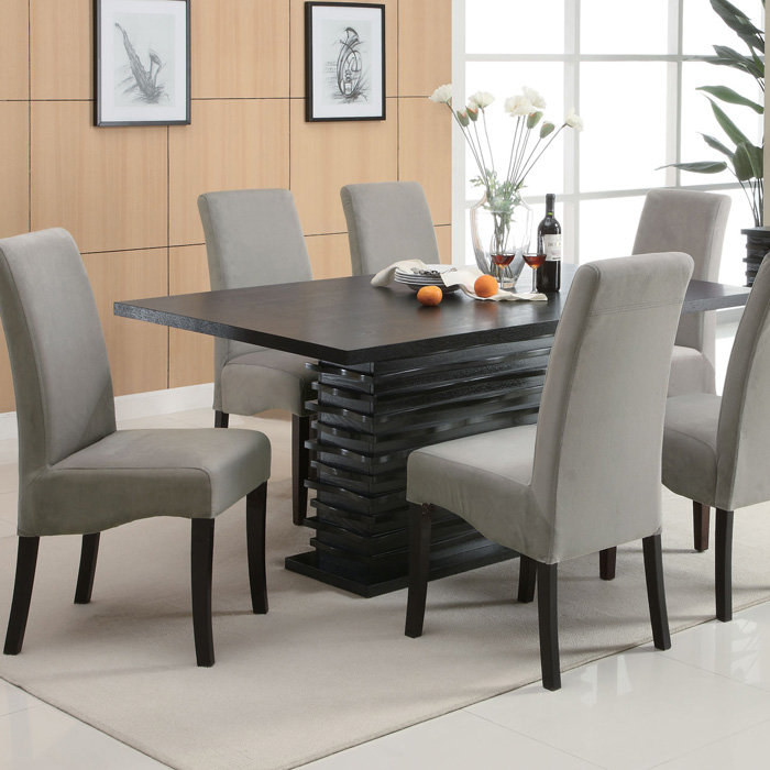 Creative of Contemporary Dining Room Chairs Brilliant Contemporary Dining Room Furniture And Modern Glass Top