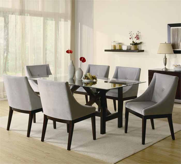 Creative of Contemporary Dining Room Chairs Download Modern Dining Room Table Sets Gen4congress