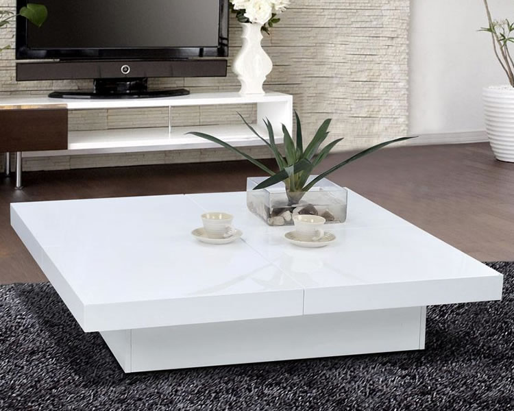 Creative of Contemporary White Table Coffee Table White Coffee Table Modern White Coffee Table