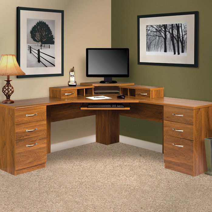 Creative of Corner Office Furniture Corner Desks Youll Love Wayfair
