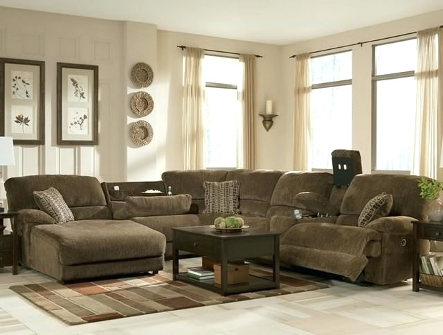 Creative of Couch With Chaise And Recliner Lounge Plain Sectional Sofas With Recliners Chaise And Recliner
