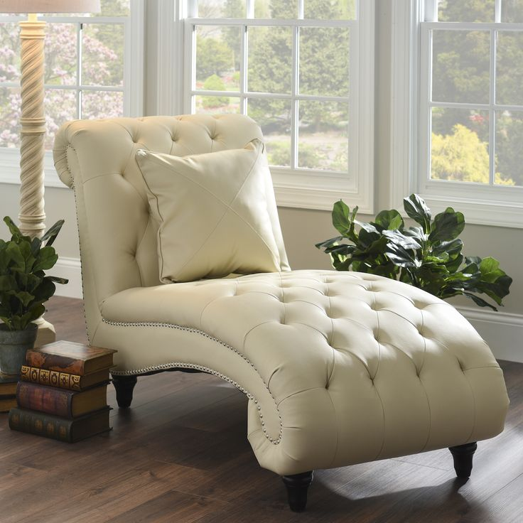 Creative of Cream Leather Chaise Lounge Best 25 Farmhouse Chaise Lounge Chairs Ideas On Pinterest