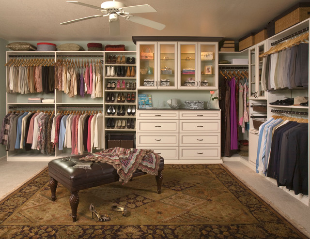 Creative of Custom Walk In Closets Custom Walk In Closet Organizers Antique White