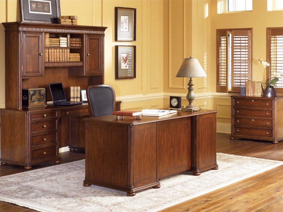 Creative of Dark Wood Desks For Home Office Home Office Modern Traditional Home Office Decoration With Dark