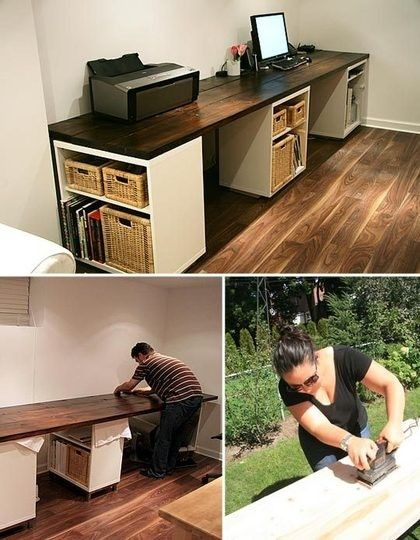 Creative of Diy Home Desk Best 25 Diy Office Desk Ideas On Pinterest Diy Desktop Diy