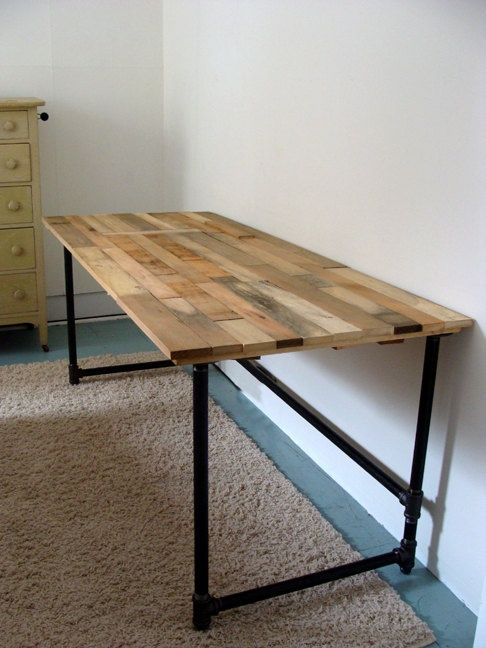 Creative of Diy Wood Desk The Lupita Reclaimed Wood Desk Whether Its Serving As A Base