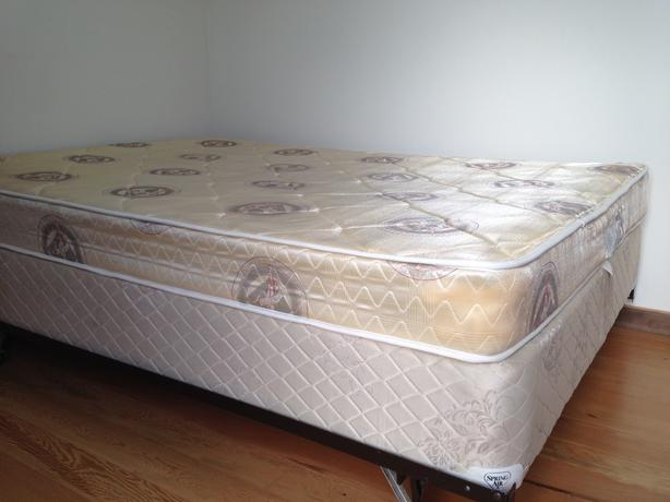 Creative of Double Bed Box Spring Double Bed Mattress Box Spring And Metal Frame Victoria City