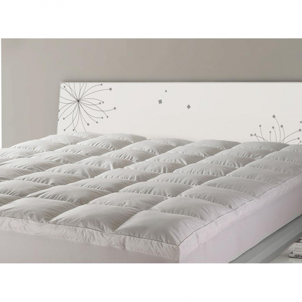 Creative of Double Bed Pillow Top Mattress Topper Ramesses Pillow Top Mattress Topper 1000gsm Double