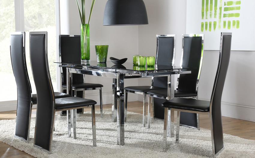 Creative of Extending Glass Dining Table And Chairs Dining Table And Chairs Insurserviceonline
