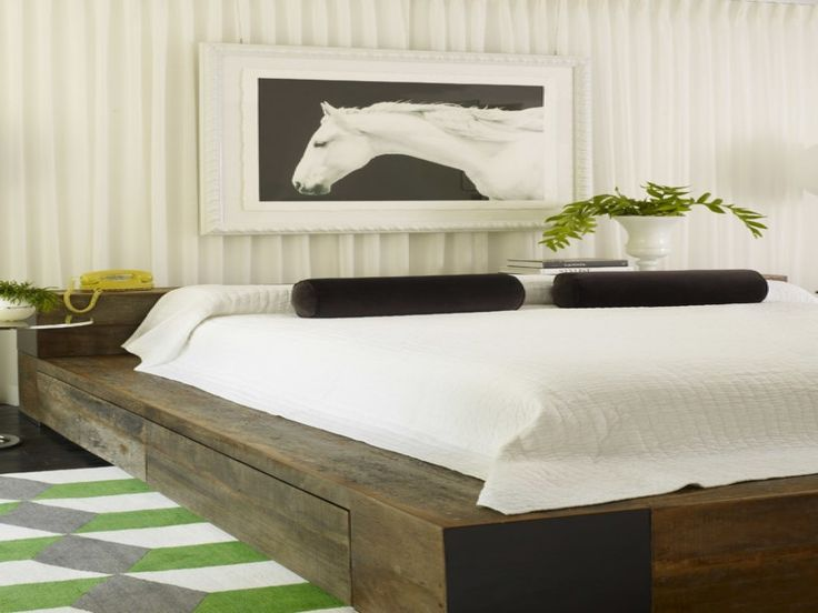 Creative of Flat Base Bed Frame Best 25 Unique Bed Frames Ideas On Pinterest Rustic Wood Bed