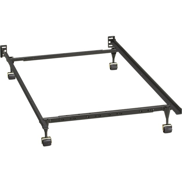 Creative of Full Bed And Frame Twin Full Bed Frame Crate And Barrel