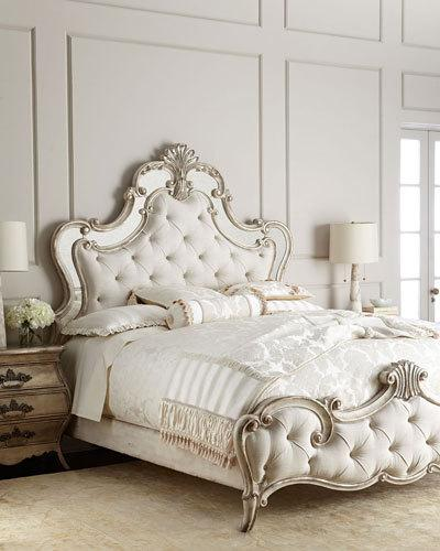 Creative of Furniture Queen Bed Frame Designer Beds Bed Collections At Neiman Marcus