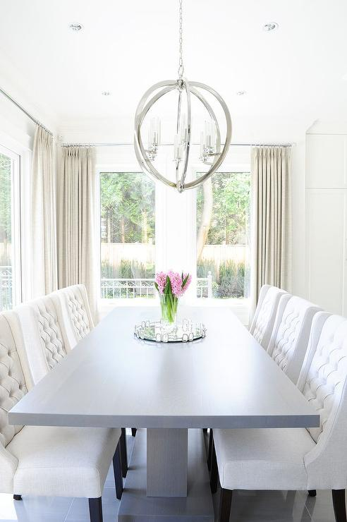 Creative of Grey Tufted Dining Room Chairs Chairs Stunning White Tufted Dining Chairs White Tufted Dining