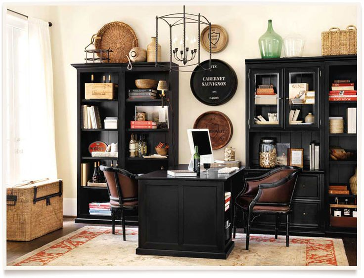 Creative of Home And Office Furniture Best 25 Black Home Office Furniture Ideas On Pinterest Black
