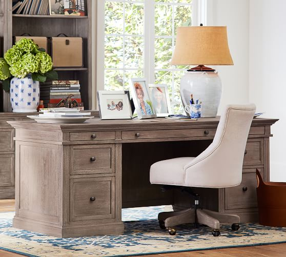 Creative of Home Office Table And Chair Home Office Desks Writing Desks Craft Tables Pottery Barn