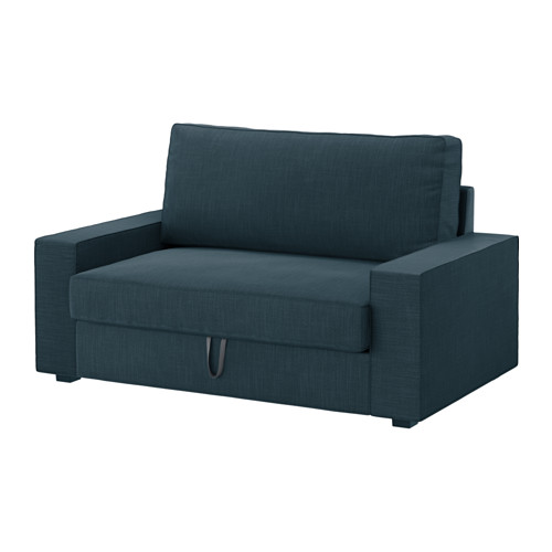 Creative of Ikea 3 Seater Sofa Bed Vilasund Two Seat Sofa Bed Hillared Dark Blue Ikea