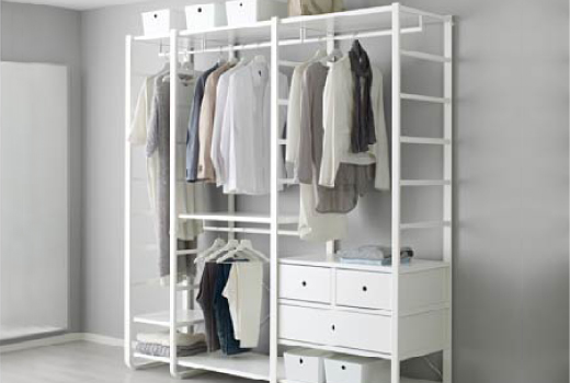 Creative of Ikea Free Standing Wardrobe Closets Clothes Storage Systems Ikea