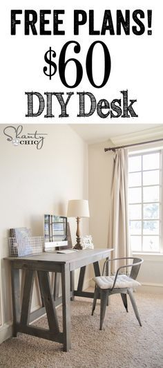 Creative of Inexpensive Home Office Desk Best 25 Cheap Home Office Ideas On Pinterest Kitchen Craft Diy