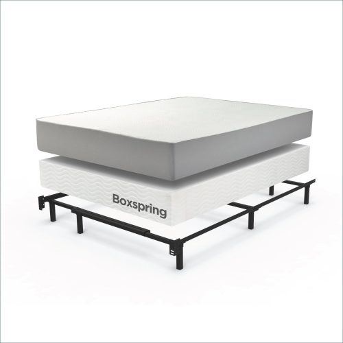 Creative of King Bed And Box Spring Top 10 Best King Size Metal Bed Frame Reviews Right Choice
