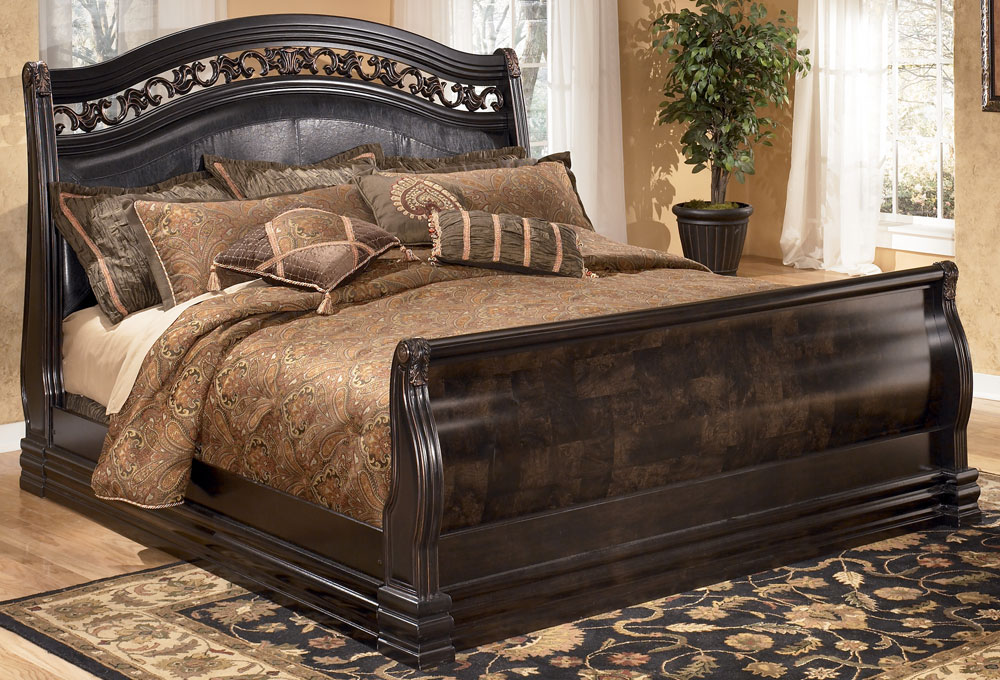 Creative of King Size Sleigh Bed With Mattress Fabulous King Size Sleigh Bed Frame With Build A King Size Sleigh
