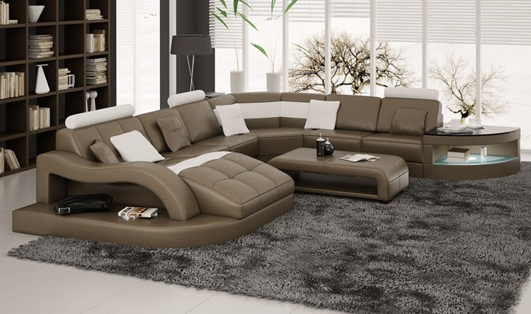 Creative of Large Leather Sectional With Chaise Rj Sectional Sofa From Opulent Items Ihso02181