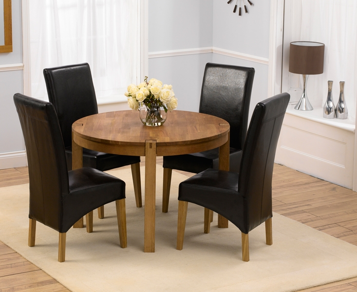 Creative of Leather Dining Chairs Set Of 4 Dining Room Best Small Sets For 4 Uk Creditrestore Throughout