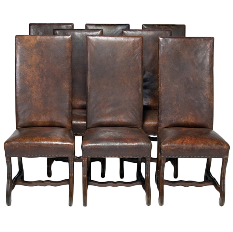 Creative of Leather Dining Room Chairs Charming Design Dining Room Leather Chairs Strikingly Ideas