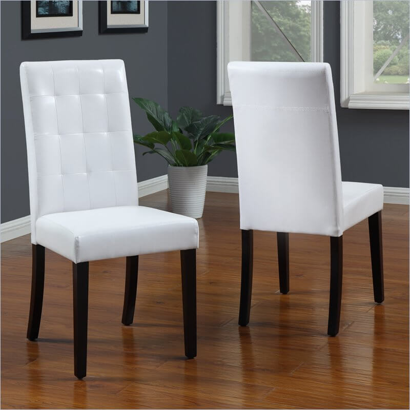 Creative of Leather Parsons Chairs Dining Room 19 Types Of Dining Room Chairs Crucial Buying Guide