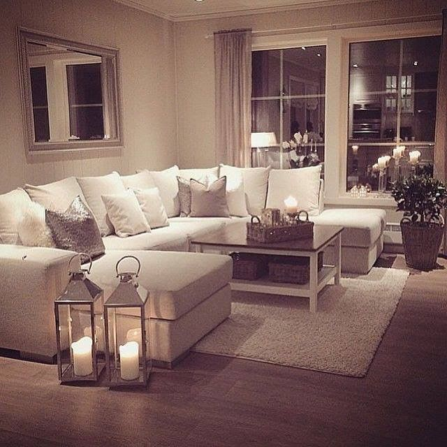 Creative of Living Room Decor Sets Best 25 White Couches Ideas On Pinterest Cream And White Living