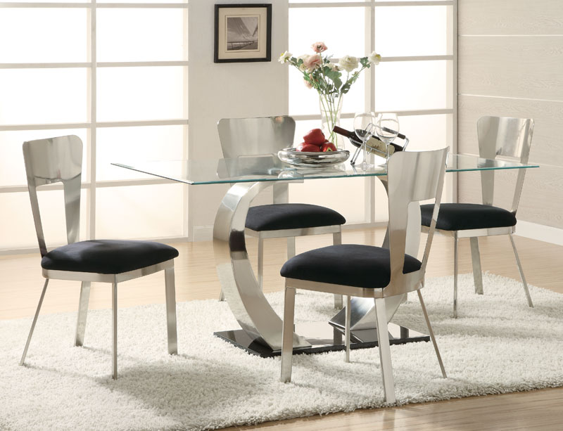 Creative of Modern Glass Dining Room Sets Lovely Modern Dining Table Sets And Designer Dining Table Sets
