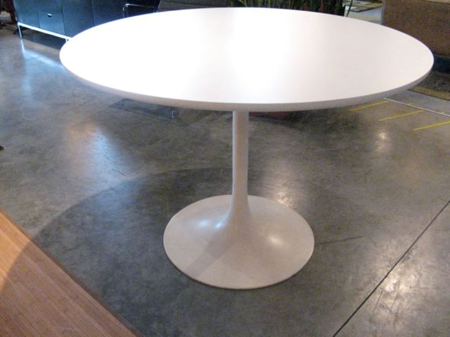 Creative of Modern Pedestal Table Round Pedestal Table Modern Boundless Table Ideas
