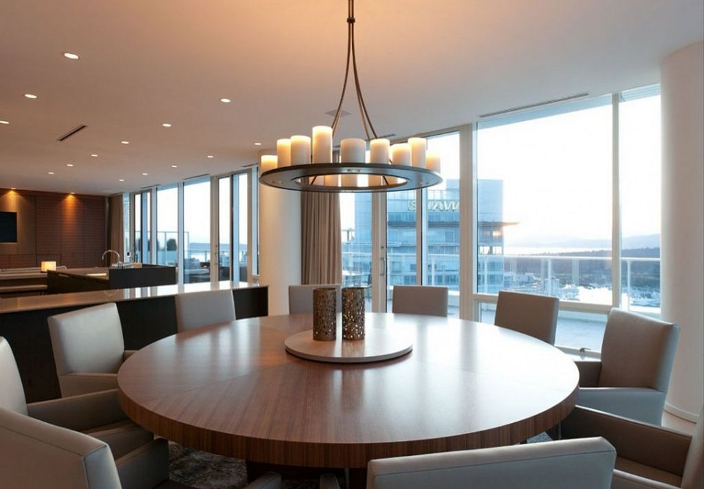 Creative of Modern Round Dining Table For 8 Round Dining Table For 8 With Lazy Susan Rounddiningtabless